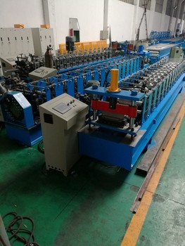 automatic seamer metal forming machine guardrail panel roll forming machine