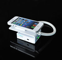 stand case for iphone 4 with alarming system for merchandise sell