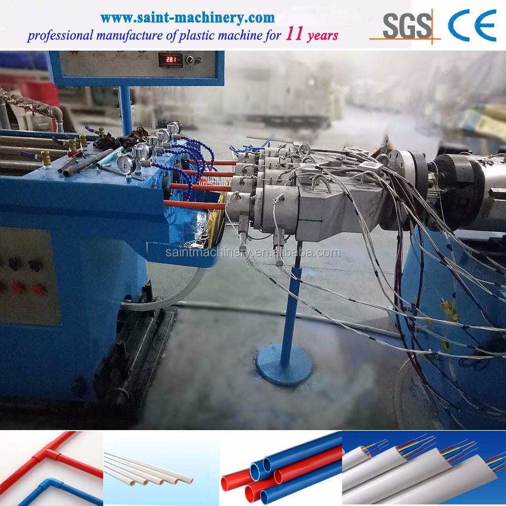high quality pvc wire duct machine