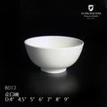 factory sale nice design from guangzhou chinaware white porcelain bowl
