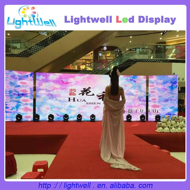 Lightwell p3.75 smd outdoor rgb led display board
