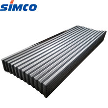 China manufacture galvanized steel corrugated metal roofing sheet