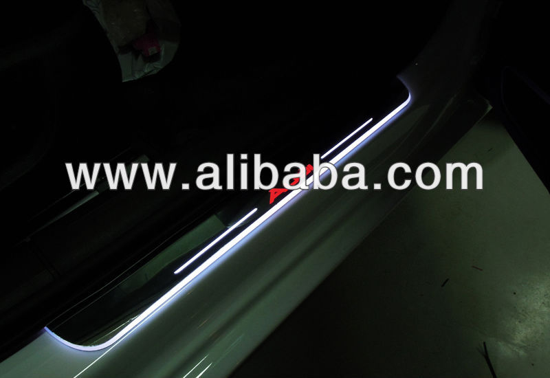 Car LED Door Moving Scuff