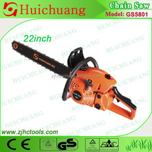 chainsaws 58cc wood cutting machine outdoor equipment