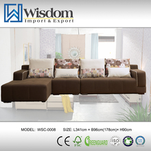 High Quality l Shape Combination Sofa Sets Modern Furniture