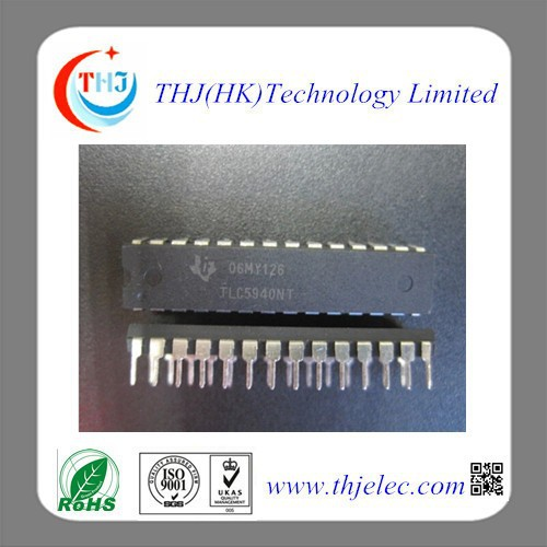 LED DRIVER LINEAR 120MA 28DIP IC TLC5940NT