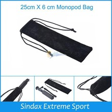 Go pro Bag for Selfie Stick Monopod Camera Accessories Portable Monopod Package bag for Handheld Tripod Adapter for GoPros