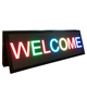 P6 smd full color outdoor led message board double side