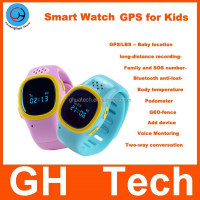GH gps watch with sos G-W301 Voice monitoring and recording function only 32g wrist watch gps gsm