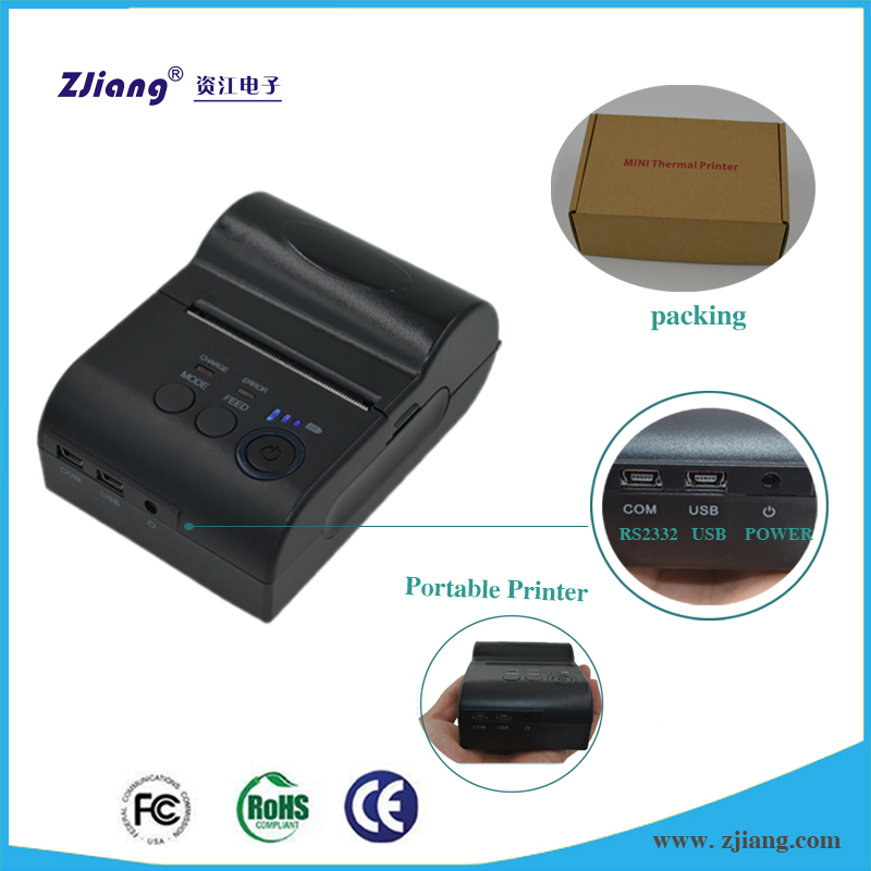 mobile phone thermal receipt printer Support Android 4.2.2 system