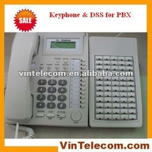 Keyphone for PBX with 72 DSS keys