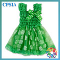 2016 Fashion Hot Sale St. Patrick's Day Dress Clover Latest fashion dresses