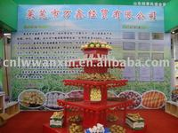 Laiwu wanxin fresh vegetable and fruits