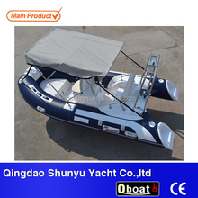 2016 popular 1.2mm pvc small cheap fiberglass inflatable boat fishing boat for sale