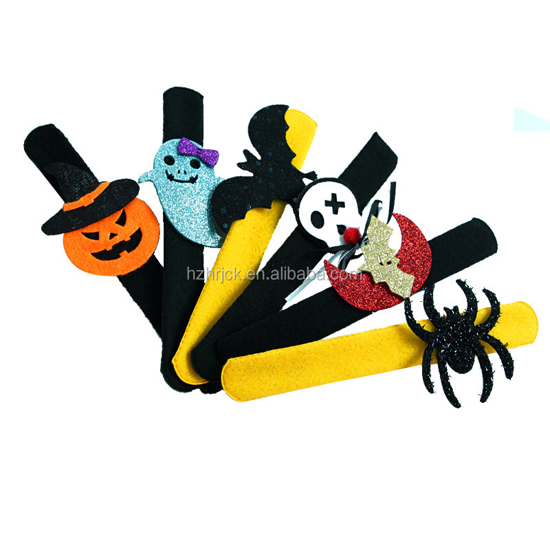 Kids Party Slap Bracelets for Halloween Party Halloween Decoration