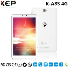 Factory high quality 8 inch android laptop computer tablet pc wifi 3g gps 4g sim card slot