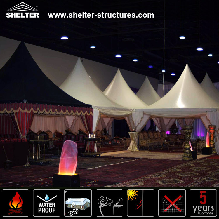 2015 Latest design wedding party gazebo tents canopy
