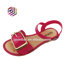 Fashion flat sandals for ladies pictures design women shoes