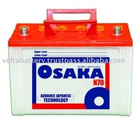105D31R/L 12Volt 70AH Car Battery