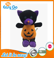ICTI promotional customized plush halloween bear toy
