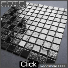 300x300mm golden crystal glass mosaic for the wall and floor