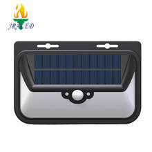 2018 Factory directly pir dimmable control solar led motion sensor wall lights 6w led solar wall light