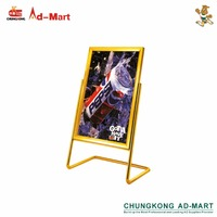 Various Kinds of Poster Dispaly Sign Stand with High Quality and 15 Years Experience