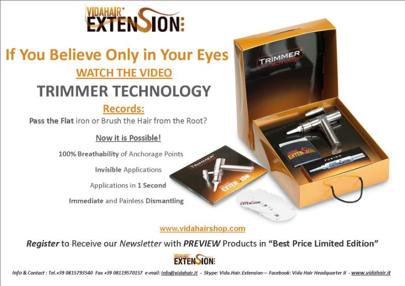 Trimmer Technology System Buy Hair Extension Tool Product On