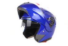 DOT double visor flip up motor helmet HD-701