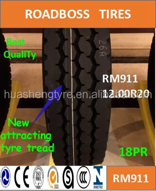 China Popular tires 12.00R20 RM911 Long lifetimes,Best resist damage for truck tires with Global Supplier of High Quality Tires