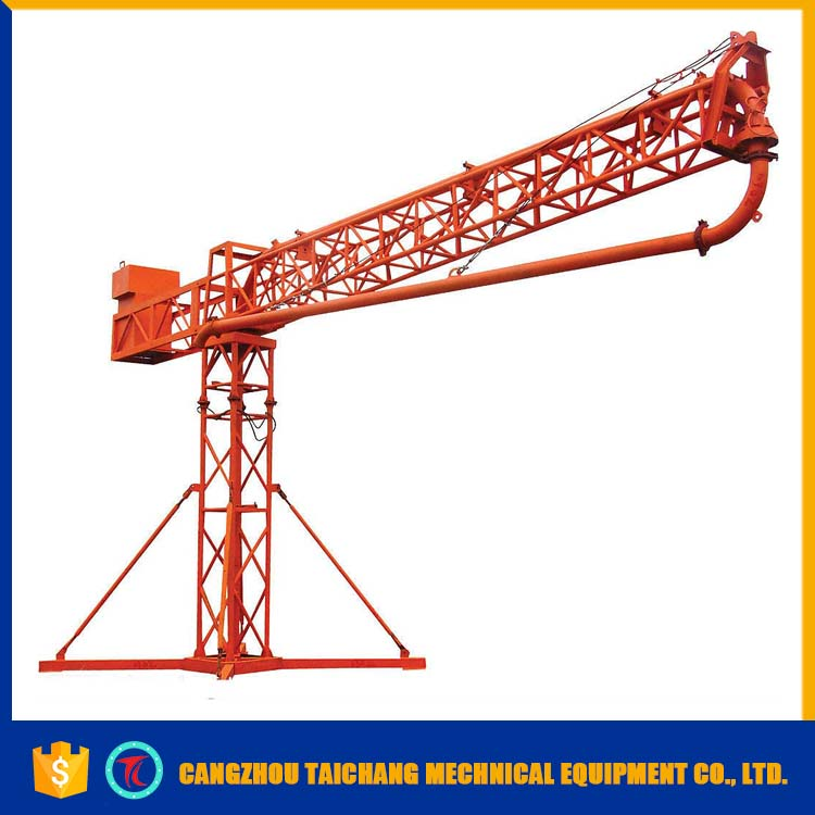 2017 New building equipment 15m manual concrete placing boom pouring with CE certificate