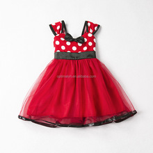 Newborn Baby Girls Cartoon Tulle Infant Baby Birthday Party Dress Boutique Children Clothing