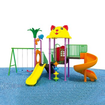 China outdoor new playground kids slide rides