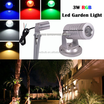new product IP67 waterproof RGB led garden light, outdoor lighting for lawn/wall/garden