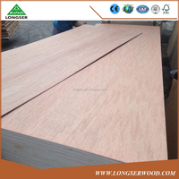 WBP Glue Two Times Press Exterior Plywood Door Skin For Middle East