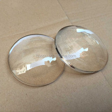 Factory Wholesale acrylic 80mm plano convex plastic lens for beer filling machine