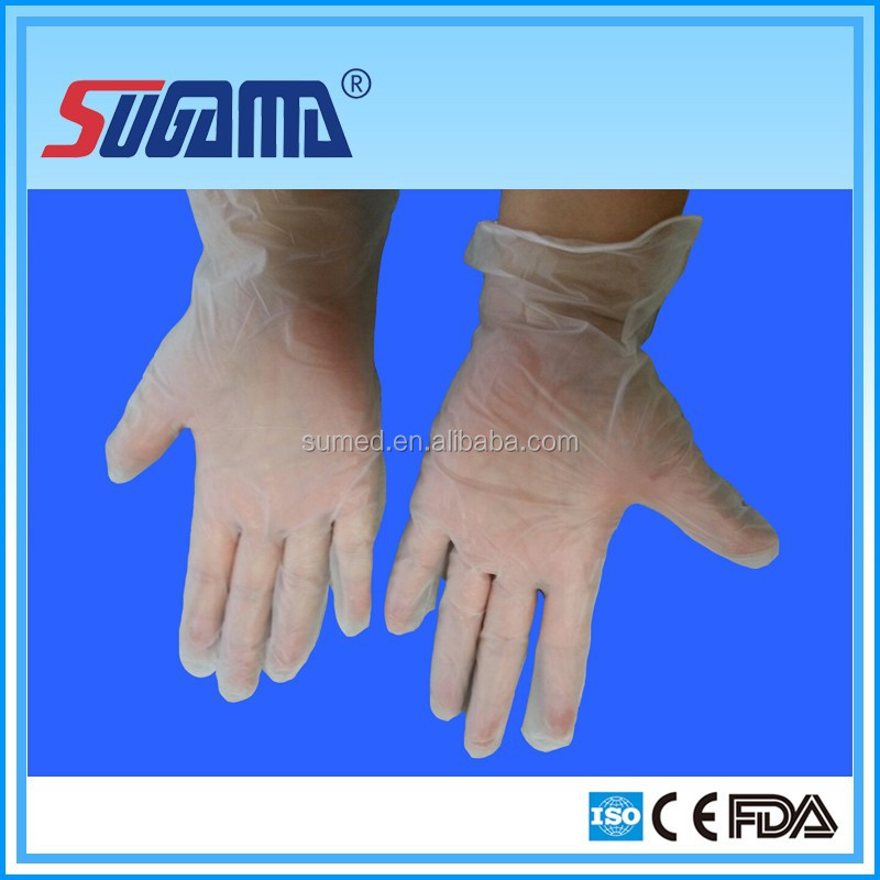 SUGAMA medical grade disposable vinyl gloves, wonderful quality