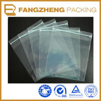 zipper bags wholesale clear zipper garment bags /Plastic self adhesive bag/ zip lock bag
