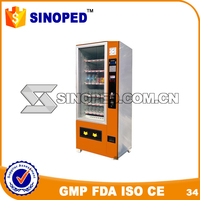 beverage dispenser/auto vending machine/snack SS- D730-6 vending machine