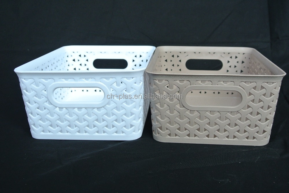 Made In China Superior Quality PP White Bread Basket Plastic