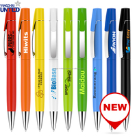 Best Selling And Fashion Metal Pen Aluminium Writting Pen With Logo Ballpoint Pen