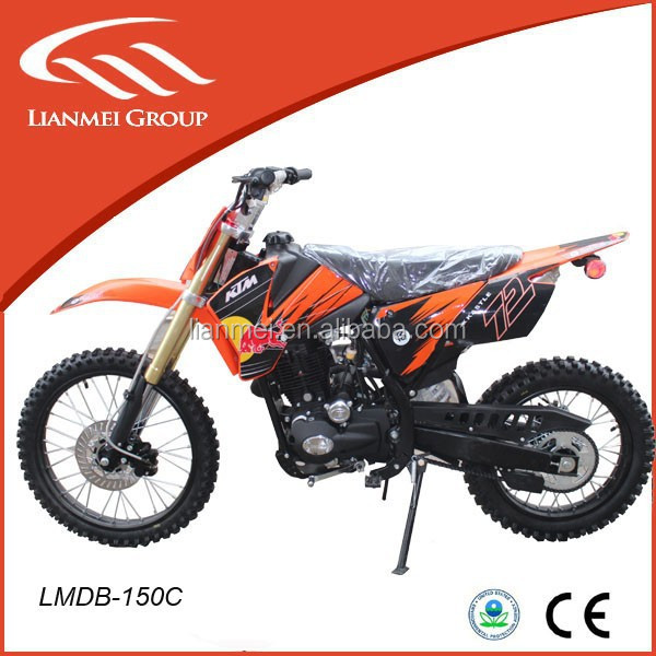 Fashionable dirt bike for sale with Lifan engine 150cc