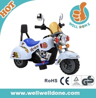 New CE model ride on motorcycle with LED light and sound can connect MP3 WDB19