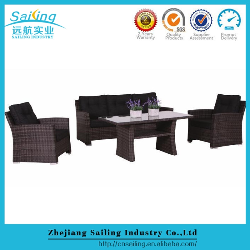 Sailing all weather unique wicker cheap used contemporary furniture