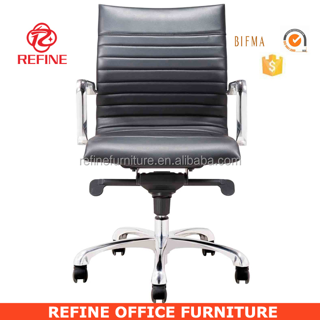 hotel ergonomic leather desk chair bifma tested RF-S076M