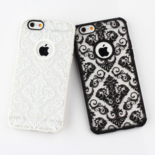 Drop-shipping support newest TPU+PC hybrid case for Iphone 6 with customerized printing glow case