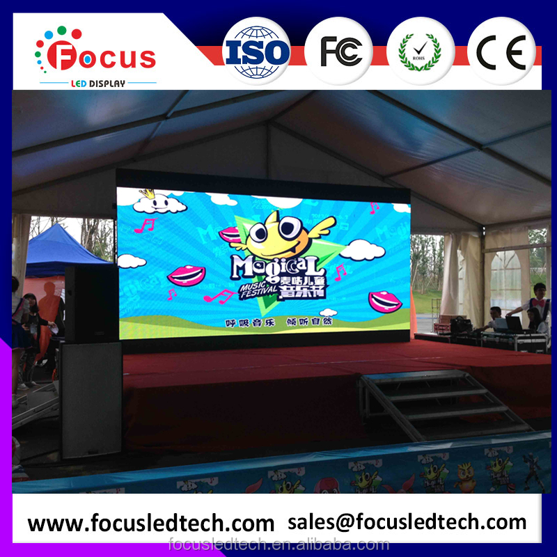 Die casting aluminum cabinet Outdoor rental led display screen p6 smd led display Rental