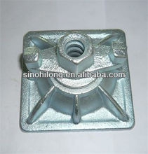 formwork slope plate 1.36kg and ductile iron