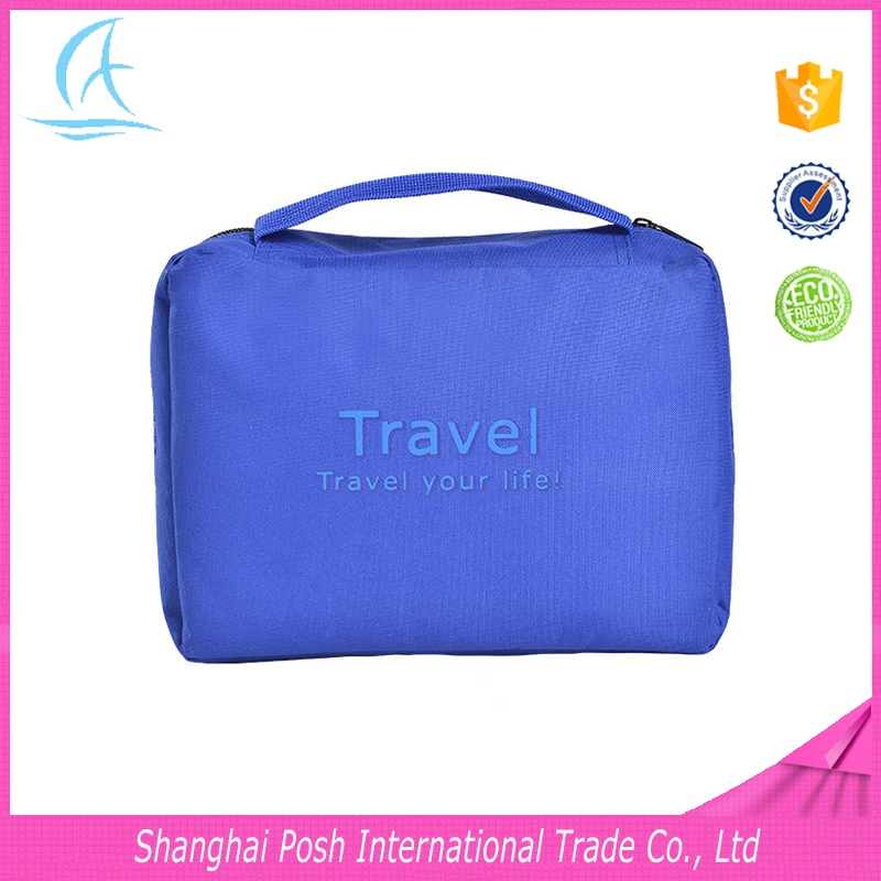 Wholesale Nylon Toiletry Bags, Large Capacity Portable Travel Cosmetic Bags