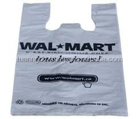 T-shirt bag with standard quality and best price from Vietnam/made of HDPE LDPE material